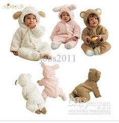 Wholesale Baby One-Piece & Romper - Buy Anti Quarter Newborn Baby Clothes Coveralls Jumpsuit Animal Shapes Romper Package Foot Romper Winter, $27.17   DHgate