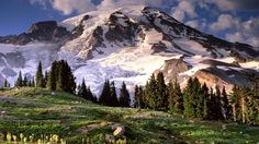 Washington State Mountains | nature, Landscape, Mount Rushmore, Mountain Wallpapers HD / Desktop ...