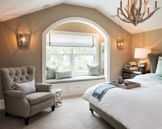 Bedroom Seating Ideas Awesome Interior Design Ideas Home Bunch Interior Design Ideas Home Room Design, Master Bedroom Design, House Design, Master Bedrooms, Modern Bathroom Decor, Home Decor Bedroom, Bedroom Furniture, White Master Bathroom, Bedroom Seating
