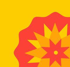Zhànshì-Qi - Logotipo usando un mandala