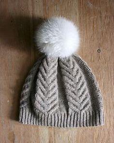 Antler Hat pattern by tincanknits