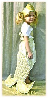 Patron déguisement sirène Mermaid pretend