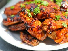 Grilled Honey Chipotle Wings | Serious Eats : Recipes