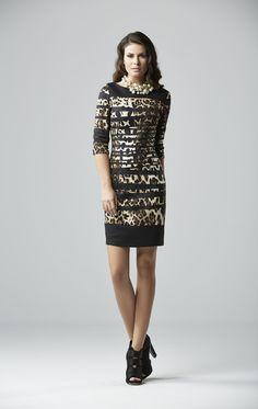 elegant leopard dress www.chrisper.gr find it online