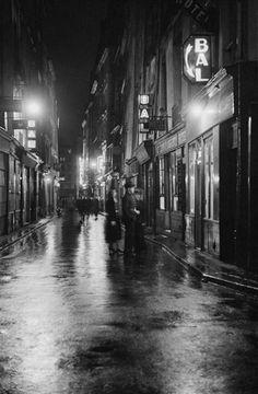 Pigalle Paris 1950's René-Jacques
