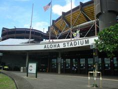 Aloha Stadium And Swap Meet. Home Of The Pro Bowl. Honolulu HI.