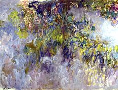 Claude Monet / Wisteria