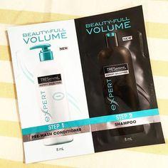 Wow! FREE TRESemmě sample! #hairandbeauty