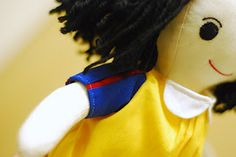 Snow White Doll Tutorial