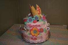 Fancy Nancy Cake By kthomas54 on CakeCentral.com by Kat's Cakes in Lafitte LA katscustomcakes.com