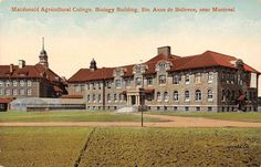 Canada Montreal Macdonald Agricultural College Biology Building Ste. Anne