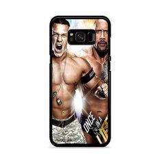 john cena and the rock wwe Samsung Galaxy Case Galaxy S8 Phone Cases, Samsung Galaxy, John Cena, Nascar Racing, Auto Racing, Soccer Jerseys, Hockey, How To Know, The Rock