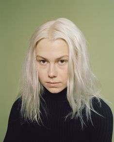 In Phoebe Bridgers's FADER cover story, meet the sweeter, stranger side of an artist you might otherwise think was only sad. Pretty People, Beautiful People, Bleached Hair, Thing 1, Celebs, Celebrities, Hair Inspo, My Girl, Portrait Photography