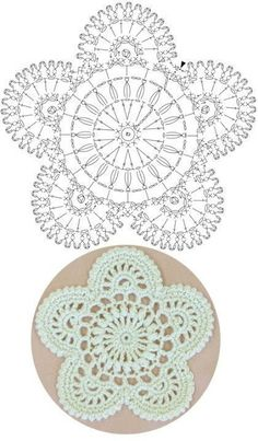 Crochet Snowflake Pattern, Crochet Coaster Pattern, Crochet Symbols, Crochet Mandala Pattern, Crochet Circles, Crochet Flower Patterns, Crochet Diagram, Crochet Chart, Thread Crochet