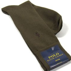 6c1f6f4fc35d Polo Ralph Lauren Dress Socks with Pony Ebroidery Tobacco One Size  fashion   clothing