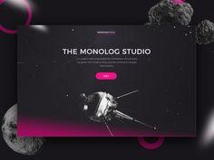 """다음 @Behance 프로젝트 확인: """"Monolog Website"""" https://www.behance.net/gallery/47108299/Monolog-Website"""