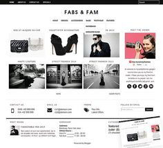 Presented, our latest premade blogger template, best for photography blogger, beauty blogger, fashion blogger,food photography, food blogger, and many more. It's universal! Let's make over your blogspot with this minimalist modern gallery blogger template.   FabsNFam photography blogger template by mycandythemes on Etsy