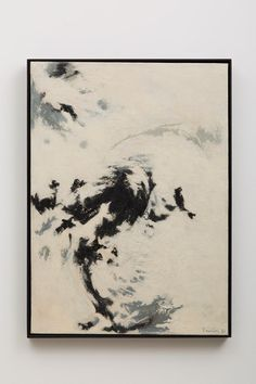 Available for sale from Galeria Nara Roesler, Tomie Ohtake, Untitled Oil on canvas, 83 × 61 cm Frieze Masters, Tomie Ohtake, Mono No Aware, Brazil Art, Oil On Canvas, Original Artwork, Vintage World Maps, Abstract Art, Pintura
