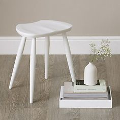 Ercol Windsor Stool | The White Company