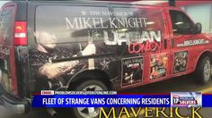 GREENVILLE, Mich. – Residents in the Montcalm County area are concerned over a suspicious fleet of vans. Decals on the vehicles indicate they belong to the Maverick Dirt Road Street Team, a group t...