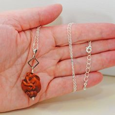 Brown Bunny Rabbit Necklace Tangled Up In Buns.