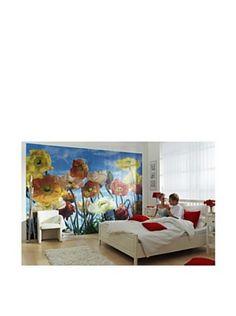 Poppy Wall Mural
