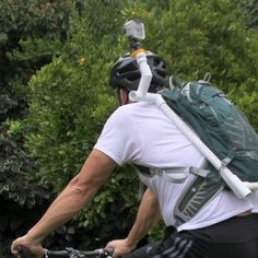 DIY PROJECT FOR GOPRO.  Do it yourself hydration pack/camera mount for GoPro.
