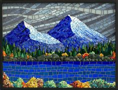 Hight Country by Terry Nicholls  Maplestone Gallery  Contemporary Mosaic Art