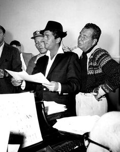 Dean Martin with Bing Crosby and Phil Harris
