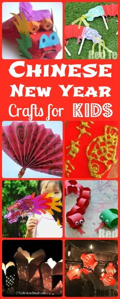 Chinese New Year Crafts for Kids from Red Ted Art
