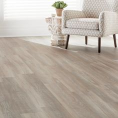 Home Decorators Collection 7.5 in. x 47.6 in. Crystal Oak Luxury Vinyl Plank Flooring (24.74 sq. ft. / case)