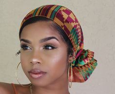 DM for promos❕ Headband Men, Head Wrap Headband, Hair Wrap Scarf, Style Turban, Mode Turban, Curly Hair Styles, Natural Hair Styles, Head Band, African Head Wraps