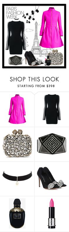 """""""Paris Fashion Week - Spring/Summer 2018"""" by jonna-hansen ❤ liked on Polyvore featuring Alexander Wang, Alexander McQueen, Chanel, Mateo, MAKE UP FOR EVER, Packandgo, spring2018, fashion2018 and ParisFasionWeek"""