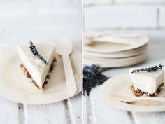 Raw Lavender Cheesecake