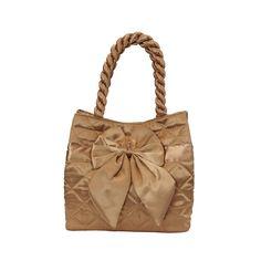 Elegantní dámská saténová kabelka Naraya zlatá NNBS100141