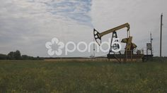 Extraction of Oil - Stock Footage | by vinnikov78