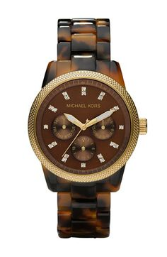 Michael Kors Tortoise Bracelet Watch