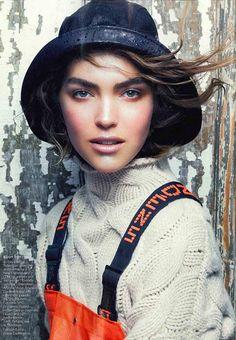 America The Beautiful By Vogue : Arizona Muse #editorials #style #editoriasdemoda