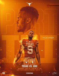 Texas Social Content 2018 on Behance Sports Graphic Design, Sport Design, Graphic Design Branding, Banner Design, Flyer Design, Layout Design, Black Canvas Paintings, Texas Longhorns Football, Cool Shirt Designs