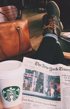 Live in comfort, style, and always take time to read while sipping down a coffee. Life is pure that way