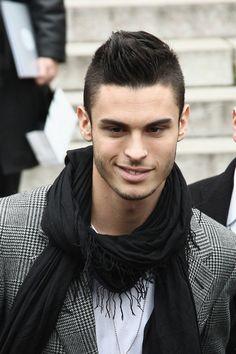 Baptiste Giabiconi Chanel Arrivals