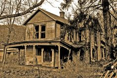 """""""This old house once filled with joy"""""""