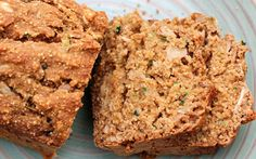 Try this scrumptious gluten-free vegan Zucchini Bread from Cathy Fisher. It's sugar-free, oil-free, egg-free but still has amazing texture!