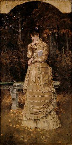 Alfred Stevens - Automne (1877).jpg                                                                                                                                                                                 Plus
