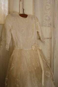 Robe de mariage ancienne