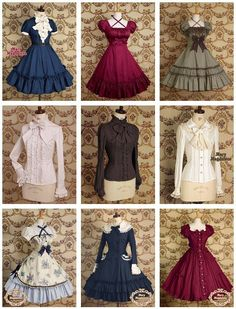 Japanese Lolita dresses