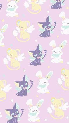 New wall paper iphone anime kawaii sailor moon ideas Cardcaptor Sakura, Sakura Kinomoto, Cute Pokemon Wallpaper, Kawaii Wallpaper, Iphone Wallpaper, Wallpaper Backgrounds, Sakura Card Captors, Chibi, Manga Anime