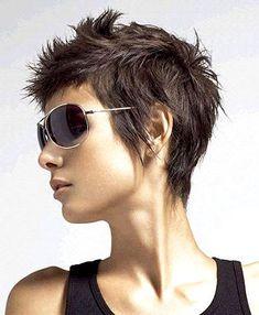 De leukste korte kapsel ideeen voor volgend kapperbezoek! - Kapsels voor haar #edgyshorthaircuts