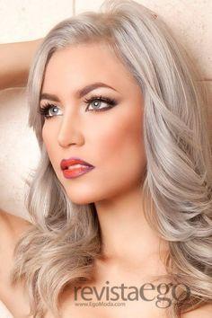 silver blonde hair - Google Search