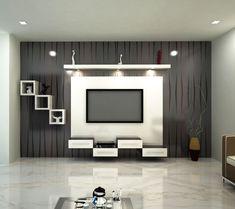 Most Innovative TV Cupboard Designs For Living Room Living Room Tv Wall, Living Room Tv, Living Room Tv Unit Designs, Modern Tv Wall Units, Furniture Design Living Room, Tv Cupboard Design, Wall Unit Designs, Tv Room Design